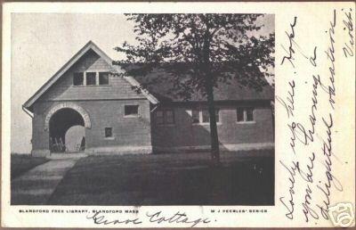 Blanford Free Library