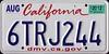 california-plate