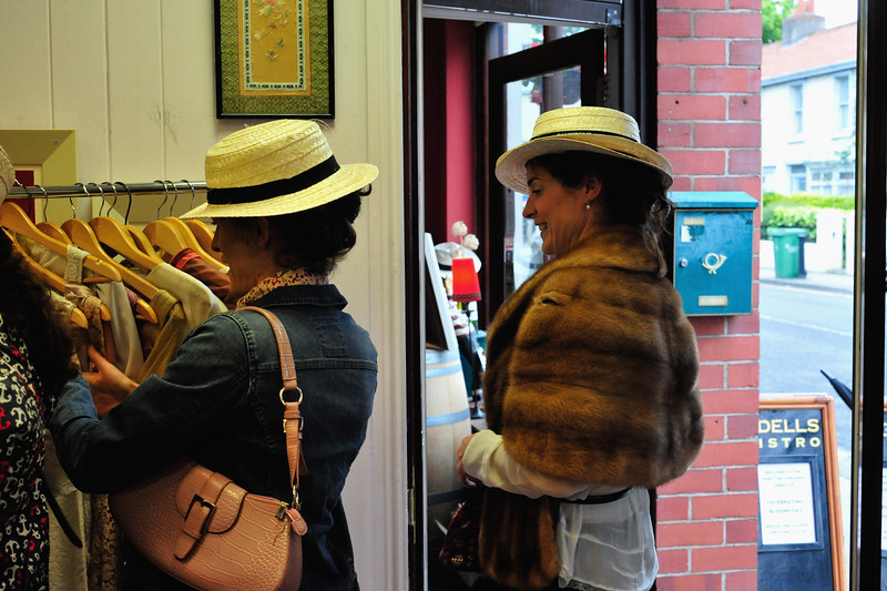 Captured in various locations in Glasthule on Bloomsday 2016. Photograph: Margaret Brown 2016