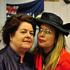 Monica Mulligan and Miren Samper in Sandycove Vintage and Classics Charity Shop in Glasthule on Bloomsday 2016.  Glasthule on Bloomsday 2016. Photograph: Margaret Brown 2016