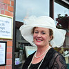 Trish Caren in Glasthule on Bloomsday 2016. Photograph: Margaret Brown 2016