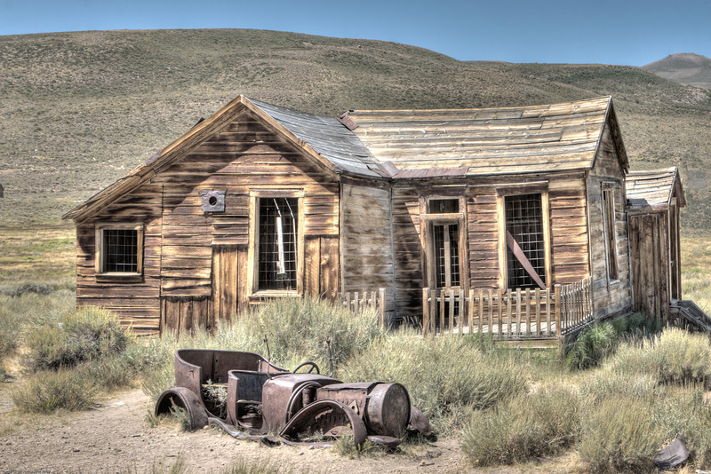 <h2>Home at Last</h2><h3>Number 1</h3>It wasn't much but it was home for a family in Bodie, California.