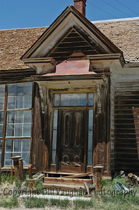 One of the fanciest front entrances in Bodie