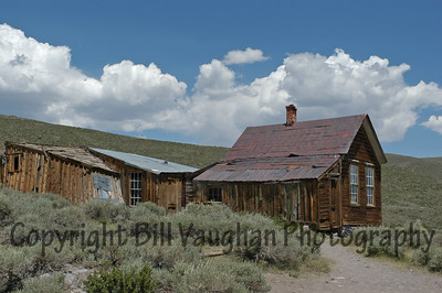 A typical Bodie home.
