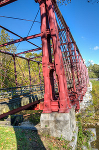 Bollman Truss Railroad Bridge, Savage Mill