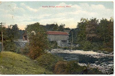 Buckland Scott's Covered Bridge