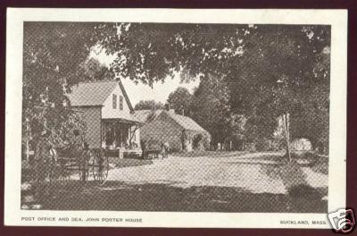 Buckland 1911 P O