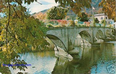 Buckland Bridge of Flowers