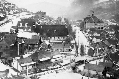 View of the Upper Town, ca.1900-1910 (Image: 2007-11-95b, Thomas F. Hansen Collection)