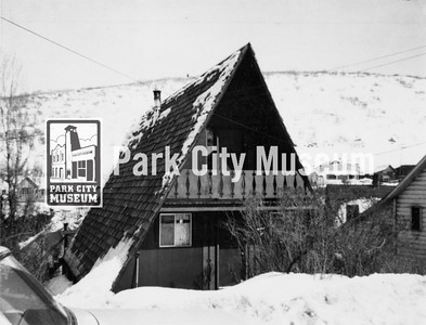 A-frame house on Park Avenue, ca.1967-1970 (Image: 1987-3-448, PCHS Tax Photo Collection)
