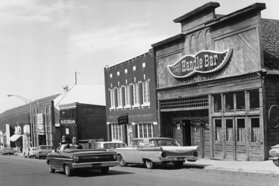 Main Street, ca.1958-1963 (Image: 2008-5-3, PCHS General Photographic Collection)