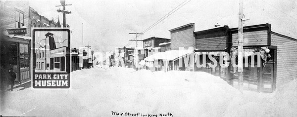 Main Street in winter, circa 1905. (Image: 2000-17-161; Kendall Webb Collection)