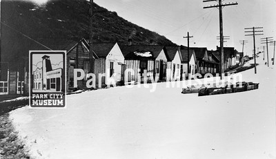 """The """"red light district"""" at Deer Valley, ca.1900s (Image: 1984-23-6, Bea Kummer Collection)"""