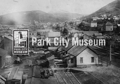 Park City looking south, ca.1900-1908 (Image: 1999-16-1, PCHS General Photographic Collection)