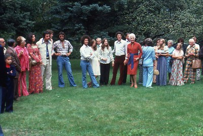 Gene and Cindy's wedding at Manitou House 1972