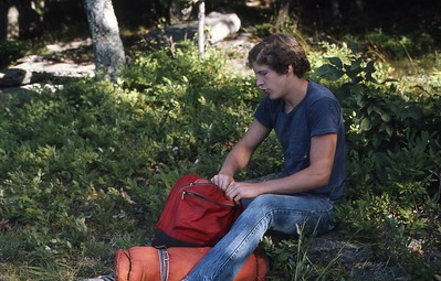 Jimmy on Middle Ridge (Friday Mt.) 1974