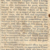 Obituary for Alice Ann Butler (1854-1873). Daughter of William Henry Butler and Jane Radford.