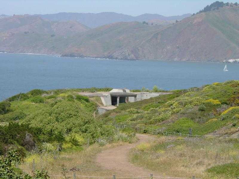 San Francisco shore battery