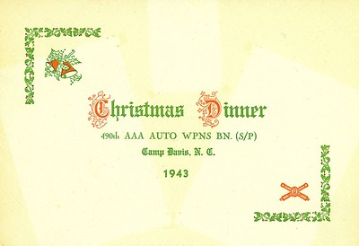 1943 Christmas Party