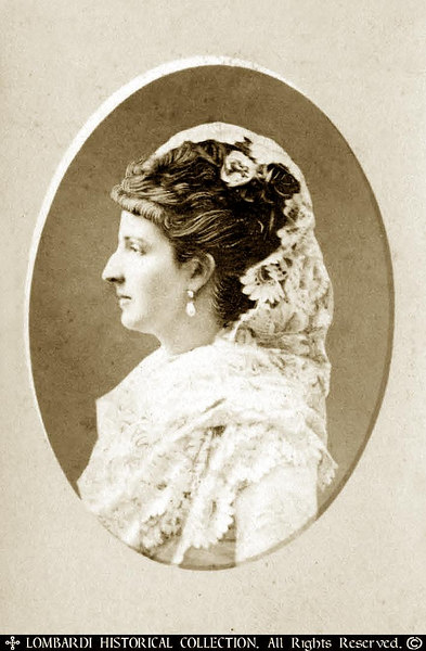 "CDV of Queenn Margaret Of Italy<br /> <br /> ""Margherita or Margaret of Savoy (born November 20, 1851 in Turin, died January 4, 1926 in Bordighera), was the Queen consort of Italy during the reign (1878-1900) of her husband, Humbert I.<br /> <br /> She was the daughter of Ferdinand, Duke of Genoa and granddaughter of Carlo Alberto, King of Sardinia.<br /> <br /> She married her first cousin Humbert (Umberto) in 1868. On November 11 , 1869, Margherita gave birth to Victor Emmanuel, Prince of Naples, afterwards Victor Emmanuel III of Italy.<br /> <br /> She encouraged artists and writers and founded cultural institutions, notably the Società del Quartetto, and the Casa di Dante. She was a benefactor of many charities, especially the Red Cross.<br /> <br /> In 1889 the pizza Margherita was named after her. Her name means ""daisy"" in Italian. Margherita Peak, the highest point of Mount Stanley, the third highest mountain in Africa, is named after her.""-Wikipedia"