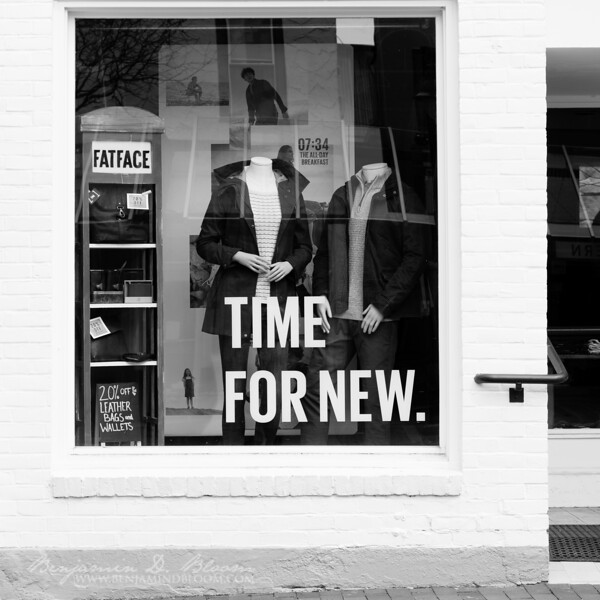 Time. For. New.