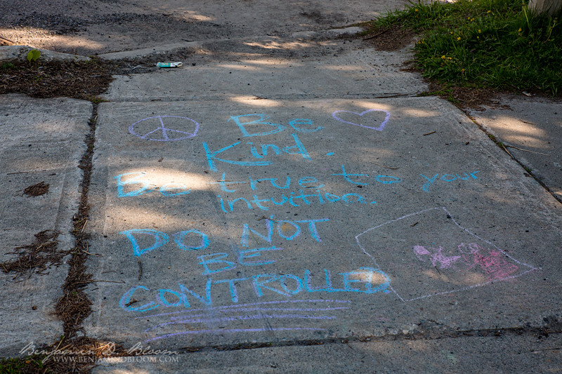 Do not be controlled