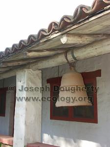 Chapel bell at Asistencia San Antonio de Pala.