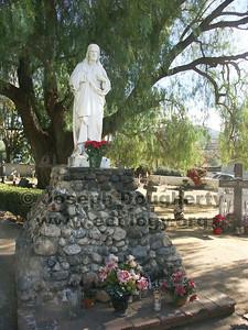 Cemetery at Asistencia San Antonio de Pala.