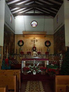 Chapel at Asistencia Santa Ysabel.