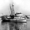 Nancy Rose,San Pedro 1940's,Coming to Union Ice Dock  For Ice,Fish Harbor,