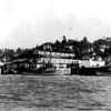 Van Camp Cannery Astoria,Pacific Marine Products,Key West,San Jose,Vagabond,Exposition King,Pic Taken 1939,Approx 33 years Later Burned to the water,