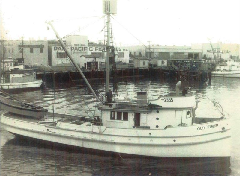 Old Timer Built 1928 Tacoma  Different Owners  Joseph Cusenza  Sea Side Packing  Herbert Davis  Luigi Sogliuzzo
