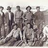 1915  San Diego  Sam DiMaggio fishing California Seining