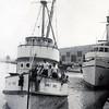 Nancy Rose,Built 1938 Los Angeles,George Fukuzaki,Coast Cannery Wilmington,Sea Wolf unloading Right,