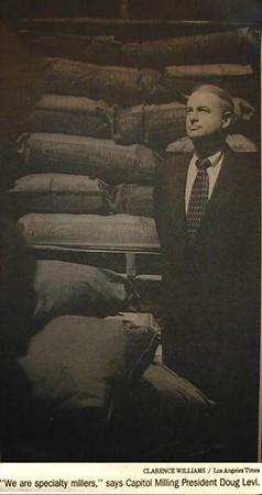 1997, Capitol Milling President Doug Levi