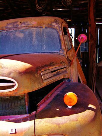 Old Cars and Ghost Towns
