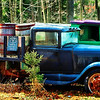"May 17, 2011<br /> ""Jack's Private Stash"" - this 'Jack Daniels' truck was shot deep in the woods while searching for a barbeque shack. Thanks for all the wonderful comments on yesterday's 'sunset pic'!"