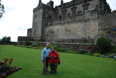 another photo of us at Stirling Castle