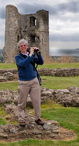 Tom at Hadleigh Castle