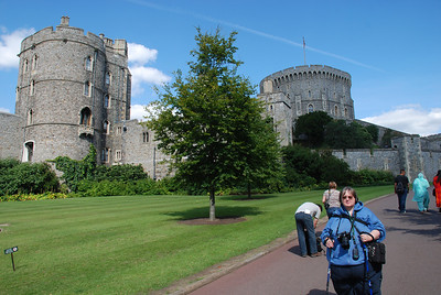 Look it me at Windsor Castle