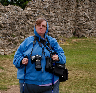 Tam at Hadleigh Castle-2