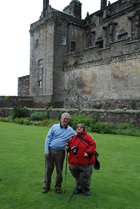 Nice photo of us at Stirling Castle in Scotland