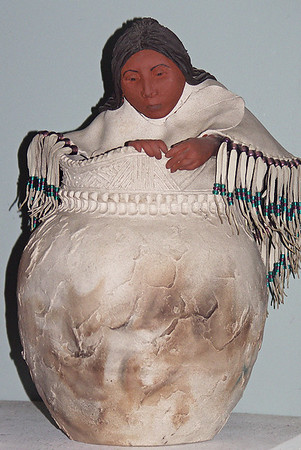 Iroquois Woman with Jug