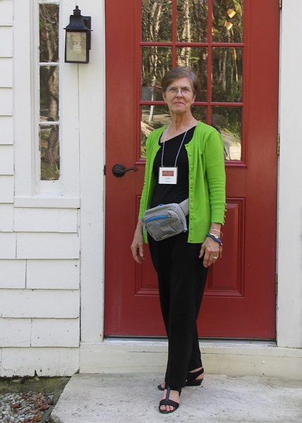 Carolyn, an exceptional guide to the Millay house and gardens