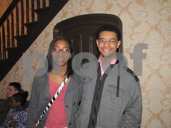 Jameka Mosley and Christopher Nichols