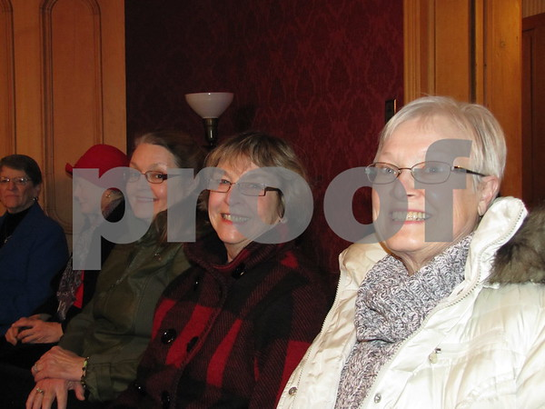 Jane Gibb, Charlene Burke, and Sheryl Griffith attended the Celebration of Black History held at the Vincent House.