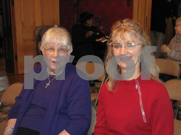 Joanne Smith and Cynthia Meek attended the Black History Celebration.