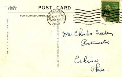 Celina Postcards