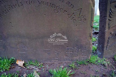 Sideways Inscription? I have photographed thousands upon thousands of stones, this is the first time I've found text carved sideways... have you seen this?  Click the ADD COMMENT button on the lower left....