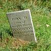 JHON H. CUNNINGHAM, CHILD<br />  <br /> Birth: Feb., 1809 <br /> Death: Nov. 13, 1816 <br /> <br /> <br /> Note: (stone says Jhon). Son of Joseph & Emma Cunningham; AE 7 yrs, 8 mos, 20 days